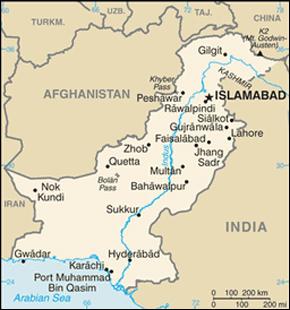 Islamabad Map