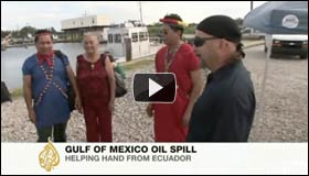 People from Ecuador to Louisiana Forge Alliances Against Global Oil Spills