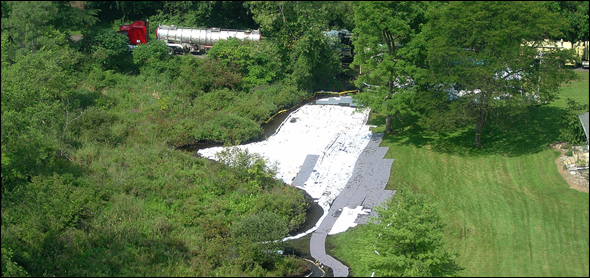 Tar Sands Oil Spill Pipeline Battle Creek Kalamazoo Michigan