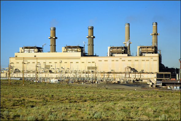 Coal San Juan Generating Station Water Energy Power Plant New Mexico Reuse