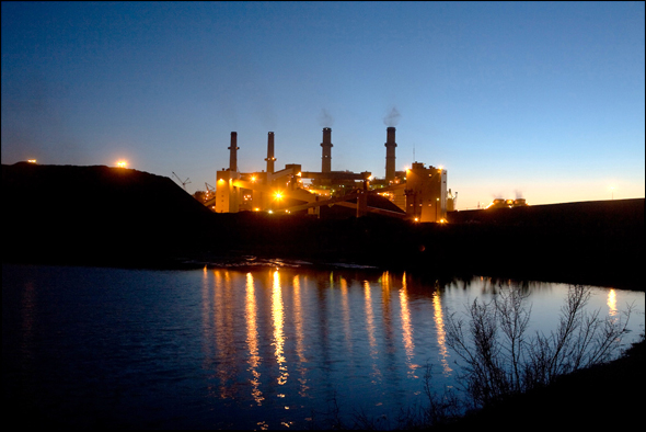 Coal San Juan Generating Station New Mexico Water Energy power plant drought.