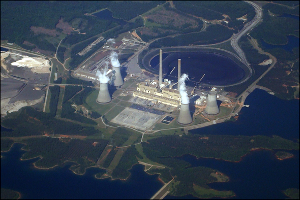 Plant Scherer Georgia Coal Power Plant Water energy carbon dioxide