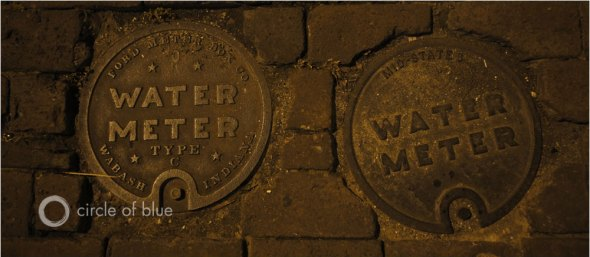 Water meter infrastructure water data carl ganter circle of blue