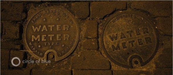Water meter infrastructure water data carl ganter circle of blue