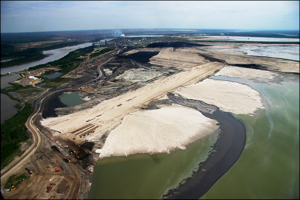 Tar Sands Energy Water Oil Athabasca River Alberta Canada
