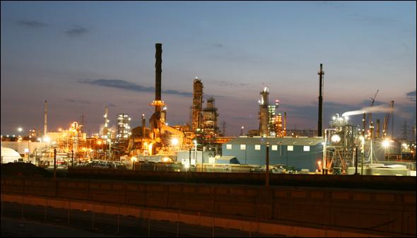 Tar Sands Water Energy Detroit Marathon Oil Refinery Alberta Canada