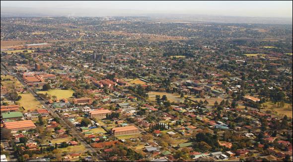 Cape Town & Johannesburg