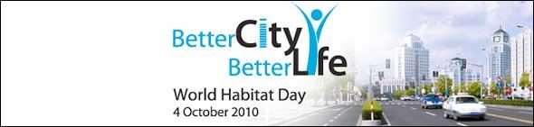 Better City Better Life World Habitat Day