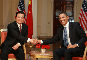 President Barack Obama Hu Jintao United States U.S. China energy water coal
