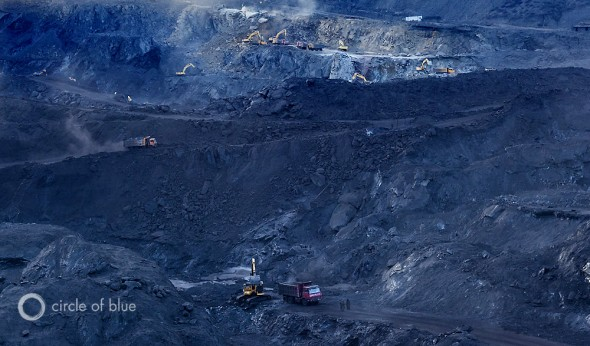 China Water Energy Coal Daqing Shan mine Inner Mongolia