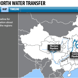 China Pipeline Map