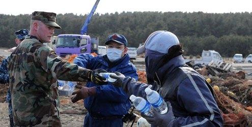 Japan Disaster Water Supply