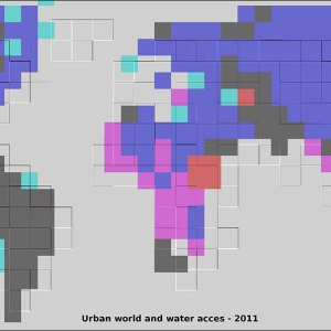 Urban Water Access 2011