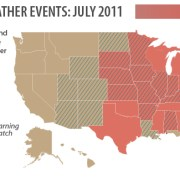 Map Weather Extremes Floods Droughts Tornados
