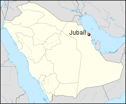 Where in the world is Jubail