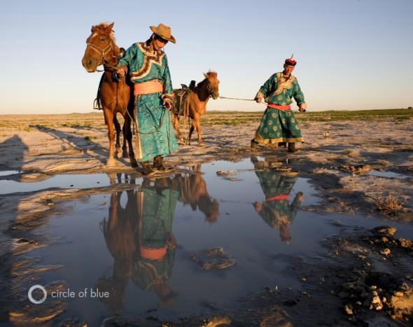 Inner Mongolia herder grassland palani mohan nomad nomadic mongol china desertification