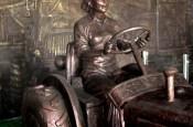 hongxinglong liang jun tractor bronze statue soviet union era food water energy Choke Point China