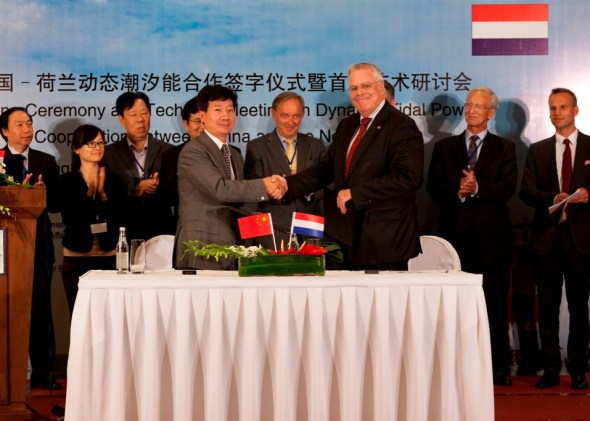china, netherlands, tidal power