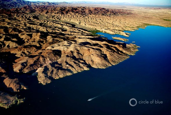Lake Havasu Arizona drought reservoir U.S. Southwest boating desert