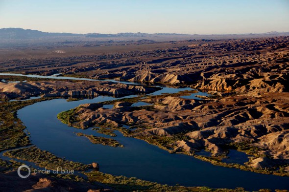 Colorado River Basin aerial