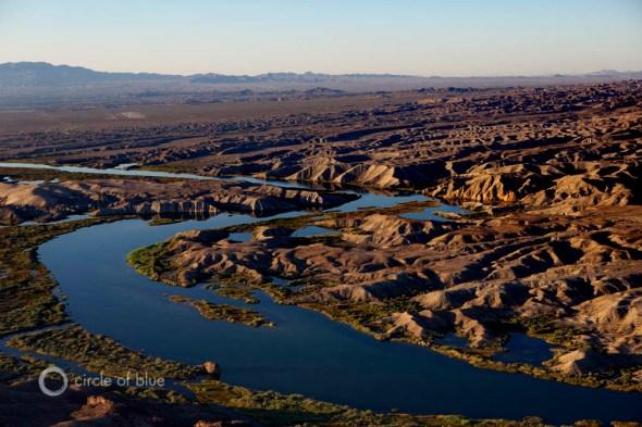 Colorado River Basin aerial