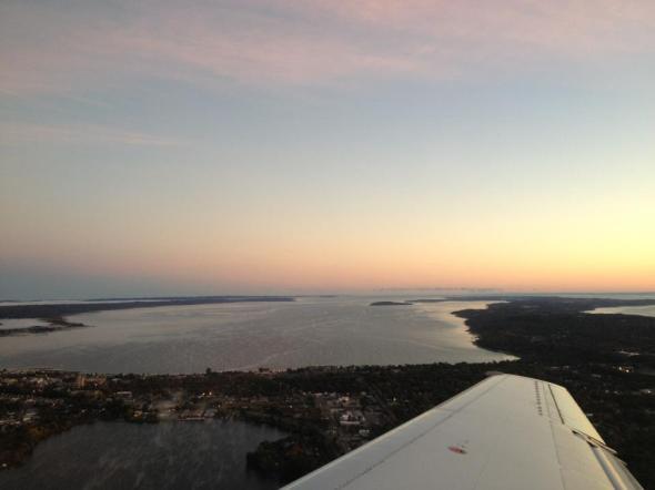 Traverse City Michigan Cherry Capital Airport Grand Traverse Bay