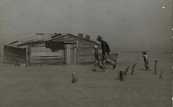 Oklahoma Dust Bowl Farm Agriculture