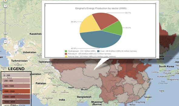 choke point china interactive infographic map google fusion table china provincial energy production data 1997 2010