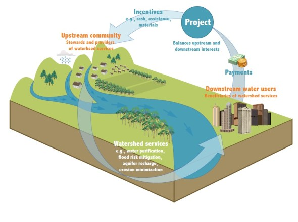 Payment watershed services water quality pollution