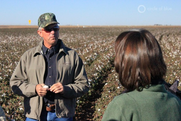Cotton irrigation agriculture farming Ogallala Aquifer Texas