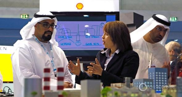 Abu Dhabi future energy summit climate change negotiations