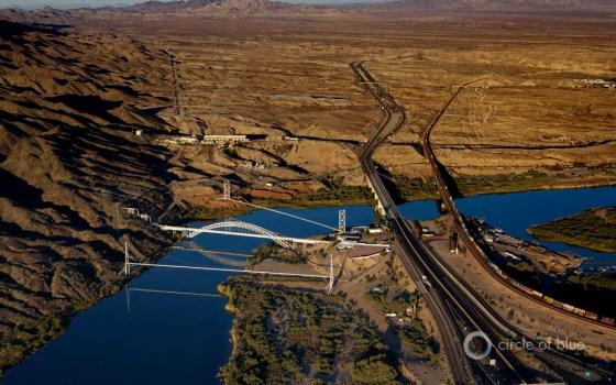 Colorado River forecast snowpack runoff drought