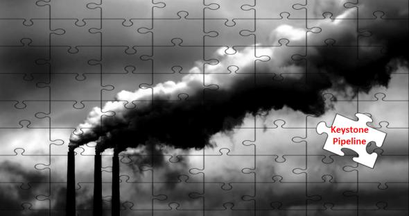 peter gleick keystone xl pipeline tar sands oil sands alberta canada puzzle piece