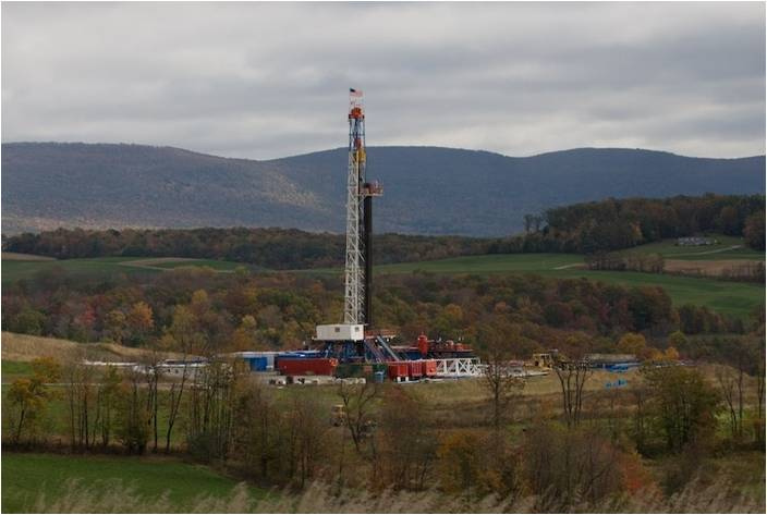 Study: Shale Gas Fracking Taints Rivers in Pennsylvania