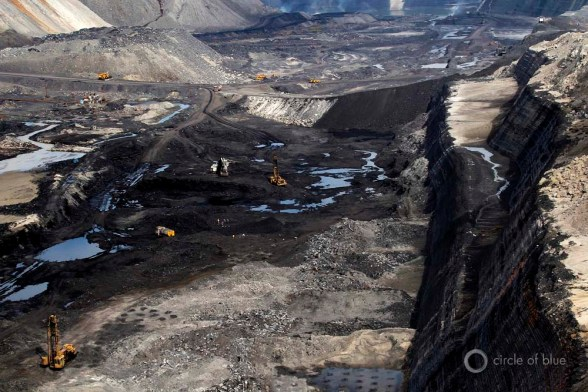 Gevra open pit coal mine mining chhattisgarh coal belt Choke Point India water food energy nexus Circle of Blue Wilson Center