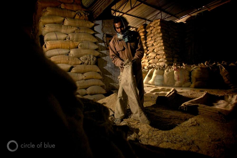 India Naraingarh Haryana Gupta Shivshakti Rice Mill night work job electricity state grid industry manufacturing grain buyer production harvest depot trader seller water food energy choke point circle of blue wilson center j. carl ganter