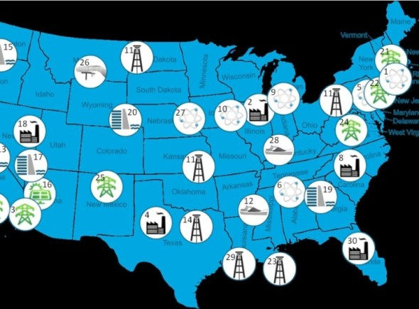 United States Energy Department climate change infrastructure vulnerability