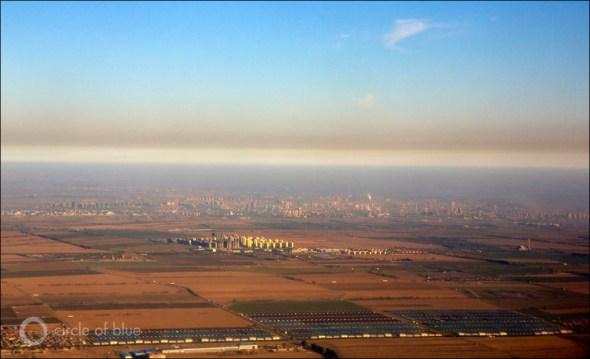 China Urumqi city air quality rating smog pollution desert northwest coal water energy Circle of Blue Wilson Center China Environment Forum J. Carl Ganter