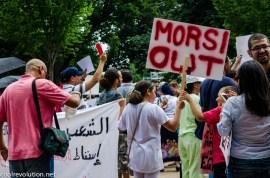 Egypt protest president Mohamed Morsi Egyptian American Washington D.C. cool revolution
