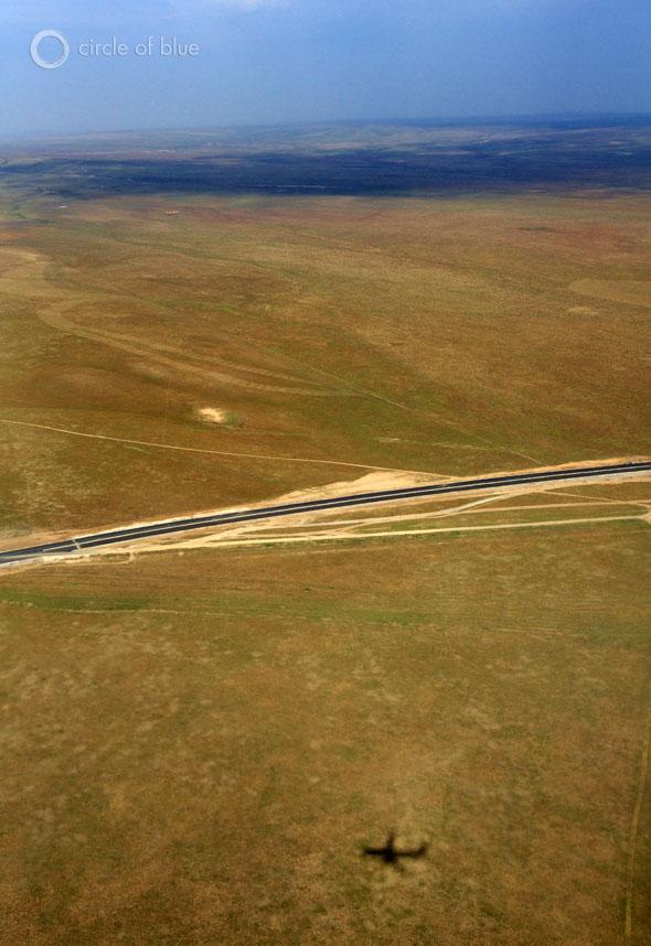 Grasslands between Xilinhot, Inner Mongolia and Beijing.