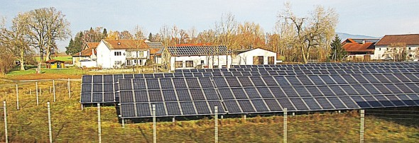 Germany's solar sector has more generating capacity than the rest of the world's solar sectors  combined