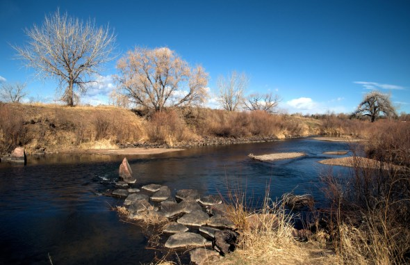Colorado South Platte River state water plan drought