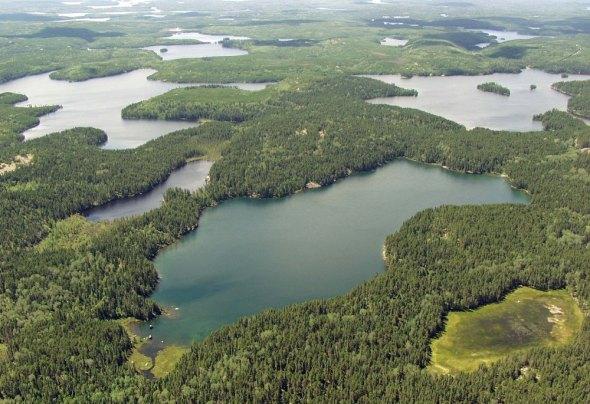 Canada experimental lakes area ELA IISD Ontario freshwater research