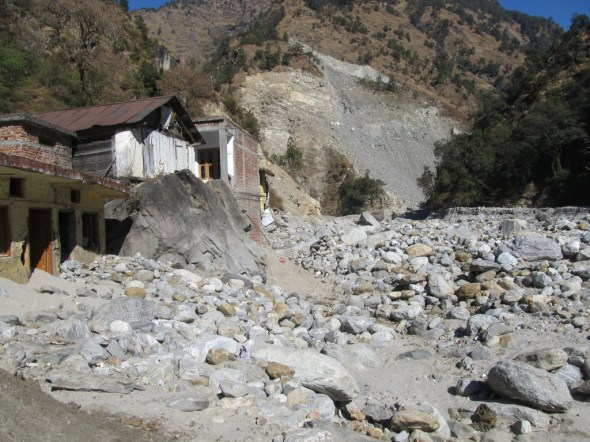 India Uttarakhand hydropower flooding dams Himalaya