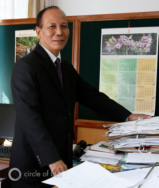 """Tony Marak, the principal chief conservator for the Meghalaya Department of Forests and Environment, a state land manager and regulatory agency, was ordered not to oversee the state's lawless coal fields. """"We have been directed by the leaders of this state government not to look at any of this,"""" he said. """"They see it as a matter of survival. They tell us, 'Don't touch this.'"""""""
