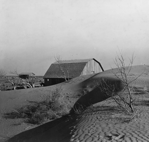 Kansas Dust Bowl dust storm Liberal Great Plains farming agriculture