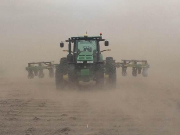 Kansas dust storm farming agriculture Dust Bowl drought Great Plains