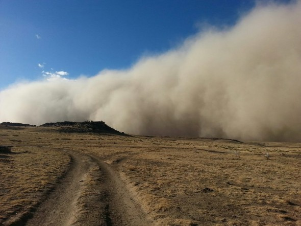 Oklahoma drought dust storm Great Plains agriculture