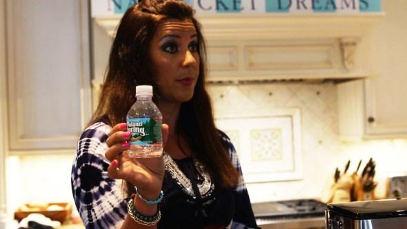 Adriana Cohen, Concord Massachusetts, bottled water