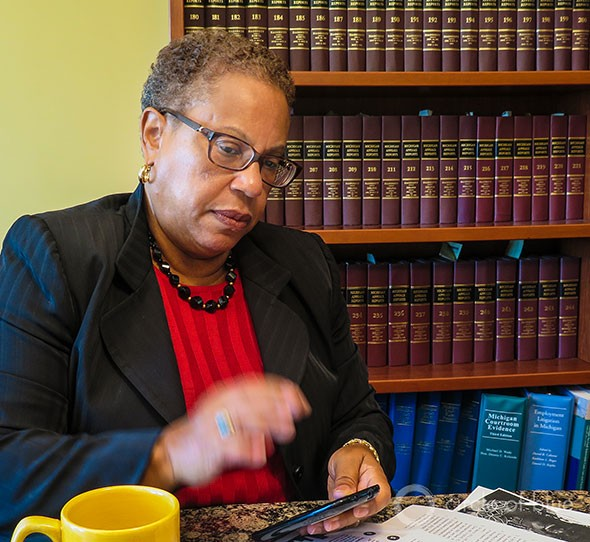 Alice Jennings led a team of eight civil rights and human rights attorneys in filing a class action lawsuit in U.S. Bankruptcy Court to halt the water shutoffs. A hearing on the case is scheduled for September 2, the same day that the Detroit bankruptcy trial starts.